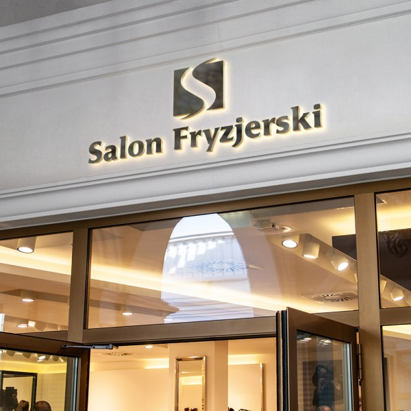 Szyld - Salon Fryzjerski