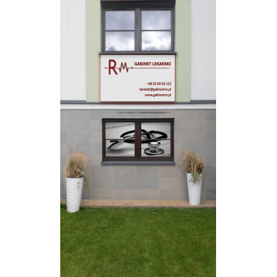 Szyld - Gabinet RM